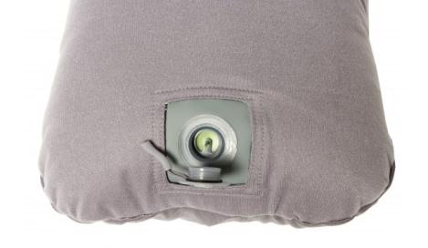 Exped REM pillow achterkant met ventiel