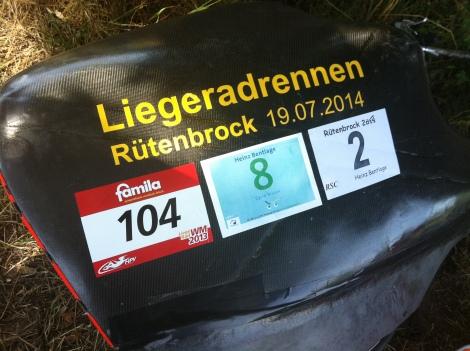 Duits voor ligfiets is Liegerad