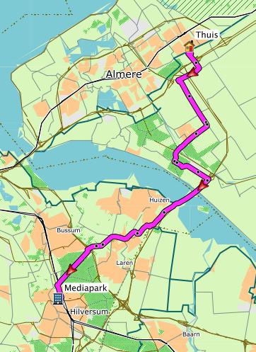 Almere-Buiten - Hilversum-Noord