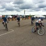 Bikepolospelers