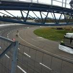 Raceway Venray baan met loopbrug