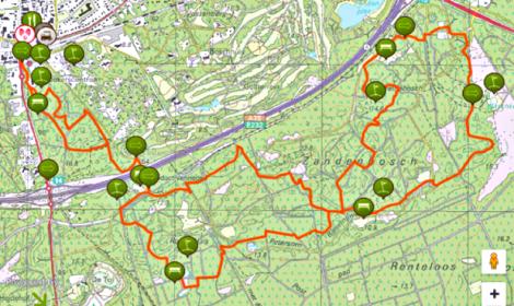 Zandenbos-route
