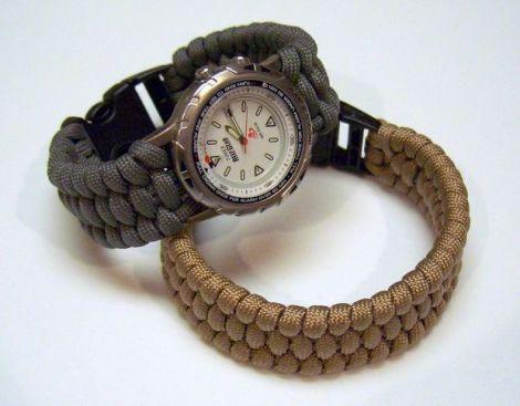 Trilobite knoop armband van paracord