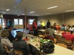 Ontbijten tijdens tweede paasdag: moed verzamelen voor de terugweg