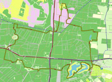 Route wandeling Paastreffen 2016