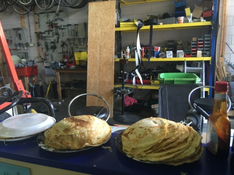 Pannenkoeken made by Ligfietsshop
