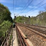 Slecht onderhoud aan railing