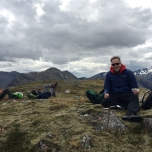 Lunch op de top van Sron Garbh (873 m)