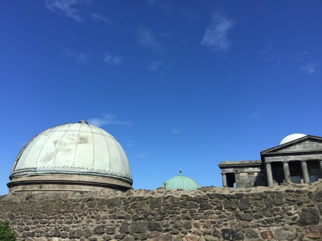 City Observatorium op Calton Hill