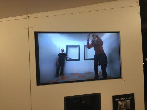 Optische illusies in museum Camera Obscura