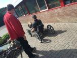 Vierwieler met automatische versnelling