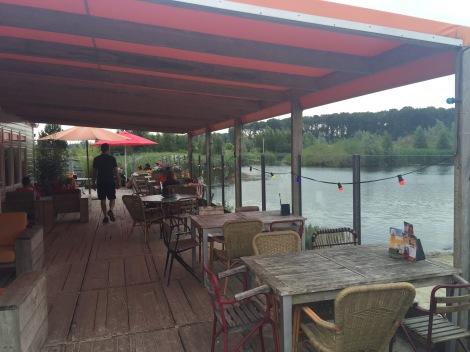 Restaurant met terras van Netl