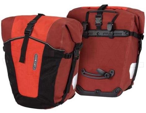 Ortlieb's Back-roller Pro Plus is verkrijgbaar in rood en zwart