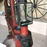 Carbid fietslamp