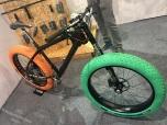 Flatland bike met eenzijdig opgehangen voorwiel