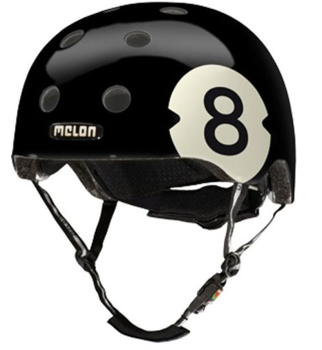 Helmen van Melon hebben leuke ontwerpen