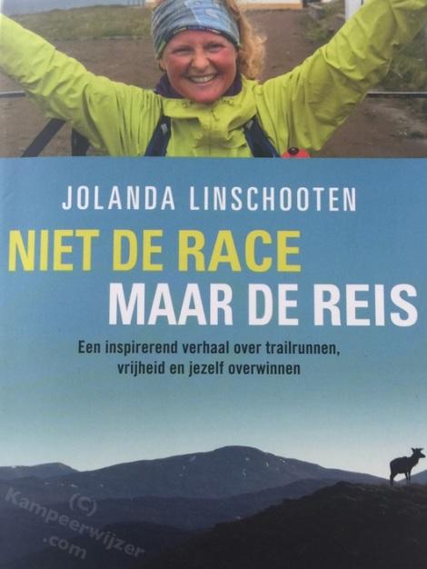 Boekomslag Niet De Race Maar De Reis