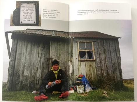 Foto uit het fotokatern van het boek