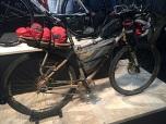 Santos MTB met bikepacking bepakking