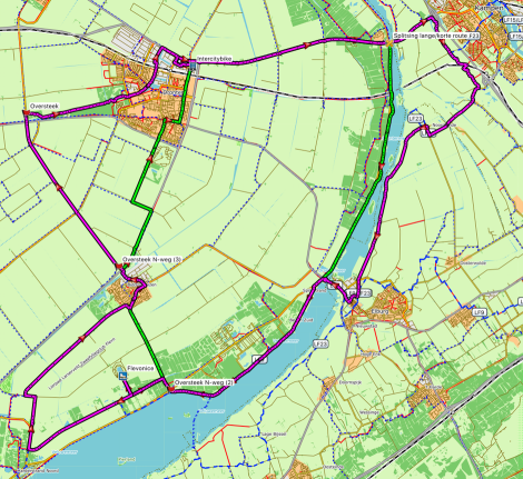 oliebollentocht2016route