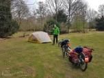 Tent inrichten