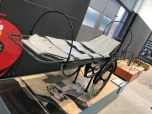 Brancardfiets die in de oorlog gebruikt werd