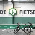 Logo De Fietser op stuur