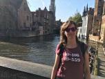 Gracht in Brugge
