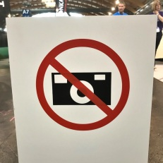 Verboden om foto's te maken