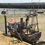 Drooggevallen haven Folkestone