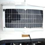 Zonnepaneel op Liegeradtreffen Oldenburg
