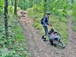 Erosie en steil in Heijense bos