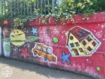Graffiti fietstunnel