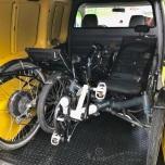 Trikes passen om en om in de Caddy Maxi